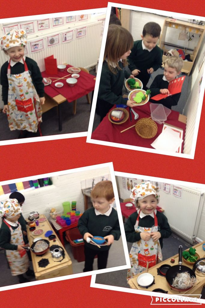 Our Chinese restaurant role play | Reception JA – 15-16