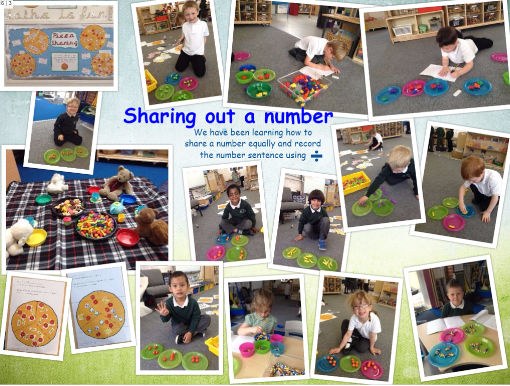 Learning to share in maths | Reception JA – Mrs Aslett